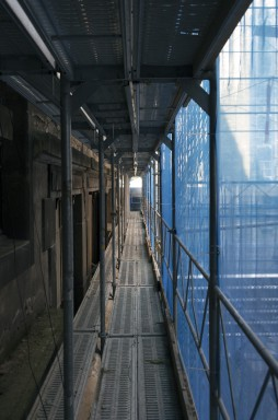 Avant les travaux, la façade
