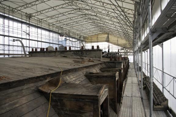 Avant les travaux, la toiture