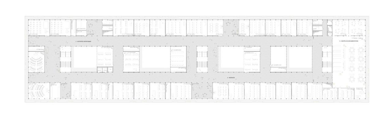 Plan du 4ème étage