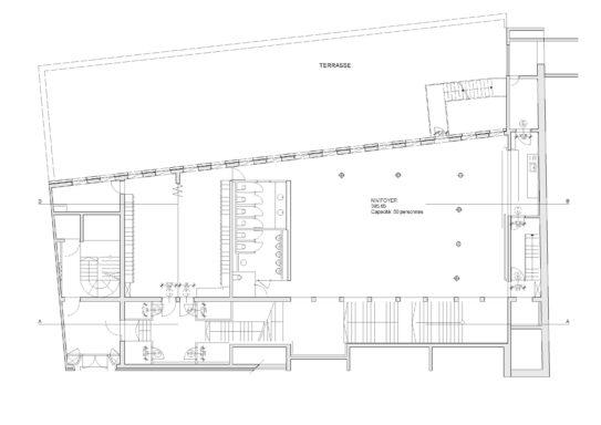 Plan du sous-sol niveau -1