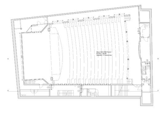 Plan du sous-sol niveau -3