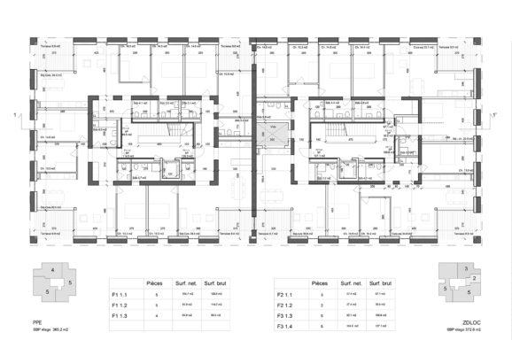 Plan © consortium Archiplein-Perraudin